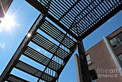 Loft Stairs Original by Darius Matuliukstis