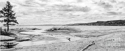 Lake Superior, Creek Minor Original by Gordon J Weber