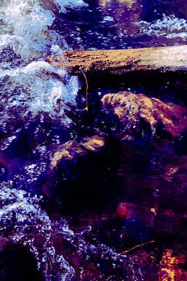 Log In River Print by Nicole Swanger