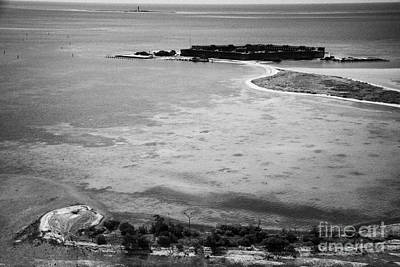 Loggerhead Key Garden Key With Fort Jefferson Bush Key And Long Key In The Dry Tortugas Florida Keys Print by Joe Fox