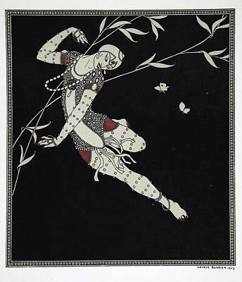 L'oiseau De Feu Print by Georges Barbier