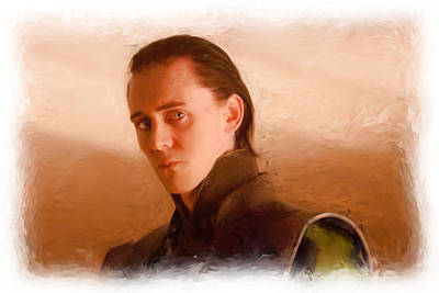 Loki Print by Martin Bailey