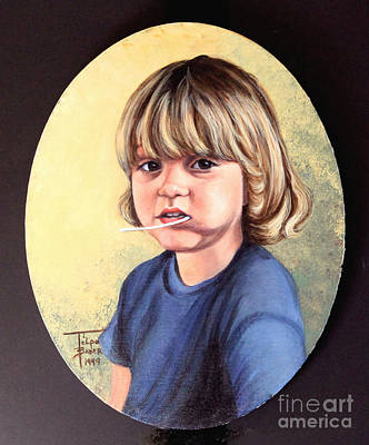 Arizona Painting - Lollipop Girl by Art By - Ti   Tolpo Bader