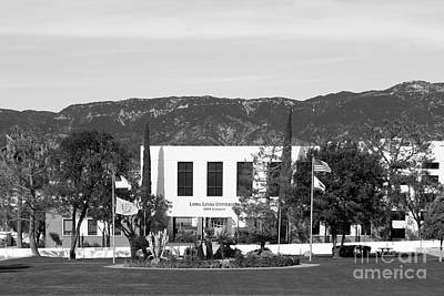 Seventh Photograph - Loma Linda University Prince Hall by University Icons