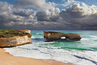 Great Ocean Road Photograph - London Arch At The Great Ocean Road by Martin Zwick