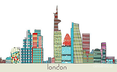 London Print by Bri B