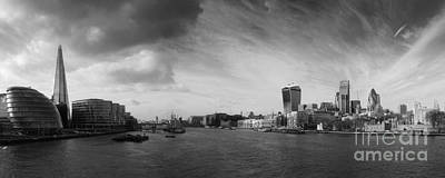 Tower Of London Photograph - London City Panorama by Pixel Chimp