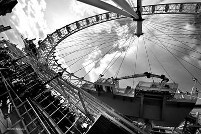 London Eye Original by Alberto Agrusa