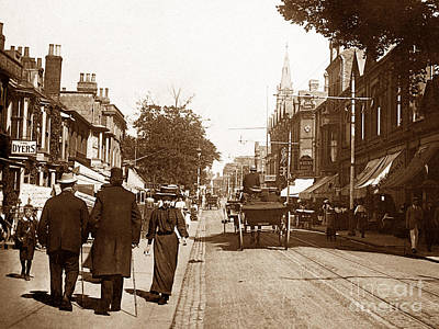 London Road North Lowestoft England Print by The Keasbury-Gordon Photograph Archive