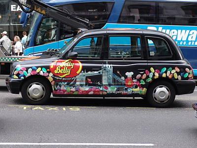 Photograph - London Taxi by Ashok Patel