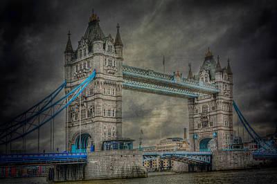 London Tower Bridge Print by Erik Brede
