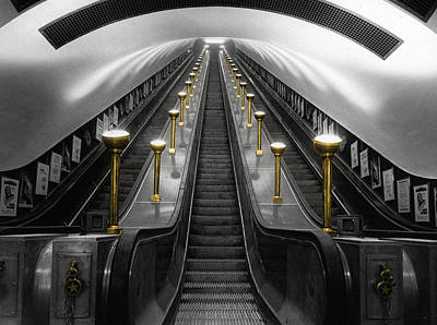 London Underground Print by Andrew Fare