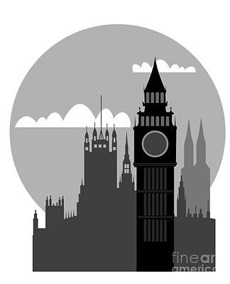London Print by Michal Boubin