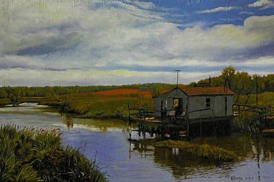 Lone Shanty Original by Kenneth Young