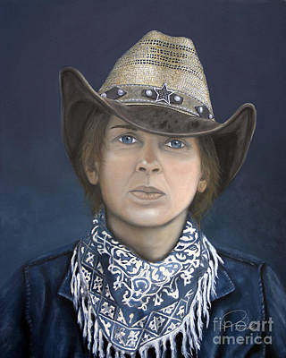Painting - Lone Star by A Wells Artworks