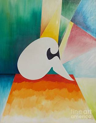 Loneliness Print by PainterArtist FIN