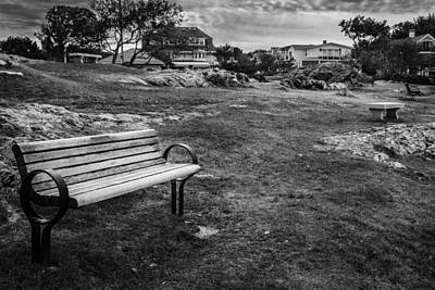 Lonely Benches Original by Robert Strasser