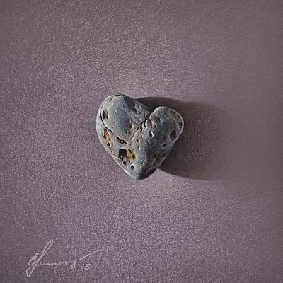 Mixed Media - Lonely Heart by Elena Kolotusha