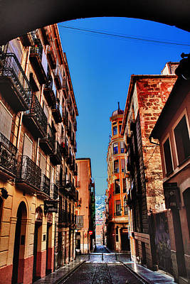 Spain Photograph - Lonely Streets by Pedro Fernandez