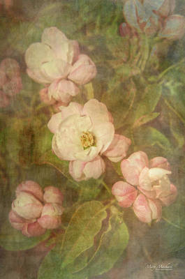 Long Ago Under The Apple Tree Print by Mary Machare