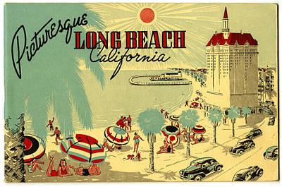 Long Beach 1946 Print by Georgia Fowler
