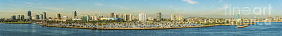 Long Beach California Print by Clear Sky Images