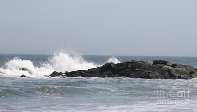Photograph - Long Beach Jetty by John Telfer