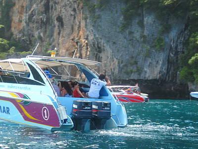 Tour Photograph - Long Boat Tour - Phi Phi Island - 0113169 by DC Photographer