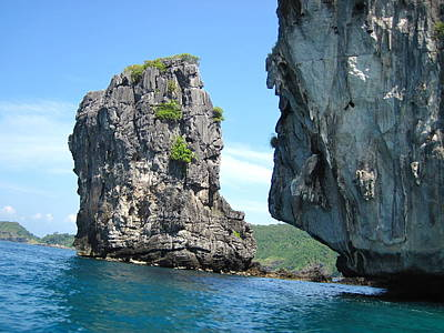 Asia Photograph - Long Boat Tour - Phi Phi Island - 0113192 by DC Photographer