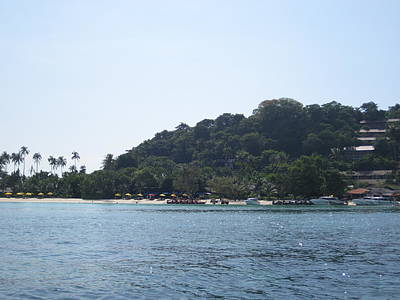Water Photograph - Long Boat Tour - Phi Phi Island - 0113245 by DC Photographer
