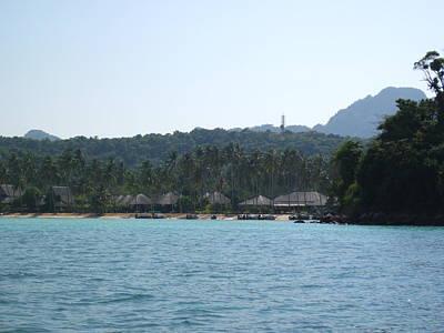 Sun Photograph - Long Boat Tour - Phi Phi Island - 0113252 by DC Photographer