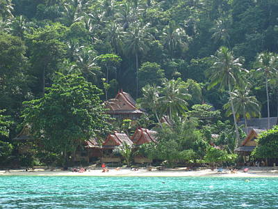 Asia Photograph - Long Boat Tour - Phi Phi Island - 0113257 by DC Photographer