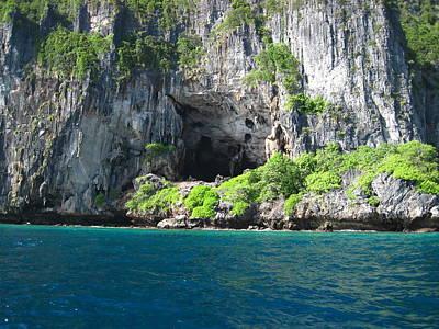 Ocean Photograph - Long Boat Tour - Phi Phi Island - 011327 by DC Photographer
