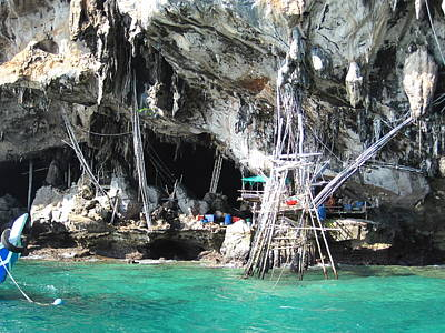 Long Boat Tour - Phi Phi Island - 011331 Print by DC Photographer