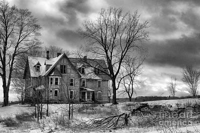 Long Hard Winter Print by Michele Steffey