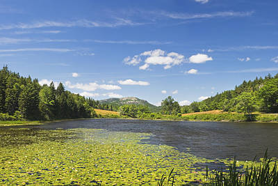 Maine Meadow Photograph - Long Pond - Acadia National Park - Mount Desert Island - Maine by Keith Webber Jr