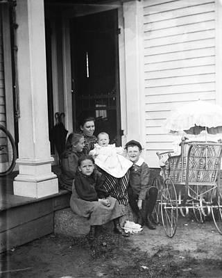 Long-serving Mother Original by Jan Faul