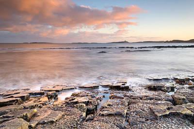 Dunstanburgh Photograph - Long Way To Dunstanburgh Castle by Chris Frost