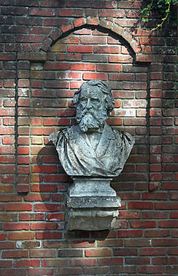 Statue Portrait Photograph - Longfellow by Suzanne Gaff