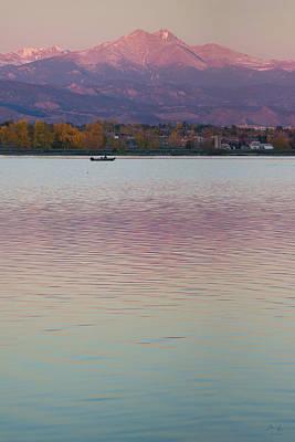 Of Autumn Photograph - Longs Peak 2 by Aaron Spong