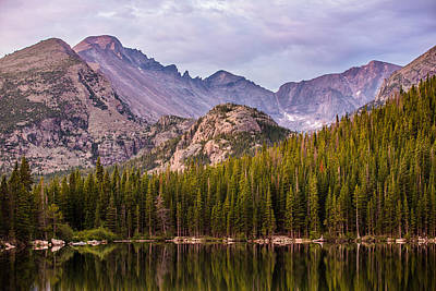 Purple Mountains' Majesty Print by Adam Pender