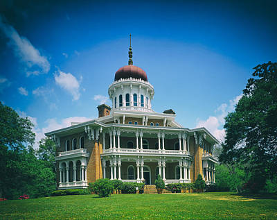 Longwood House - Natchez Print by Mountain Dreams