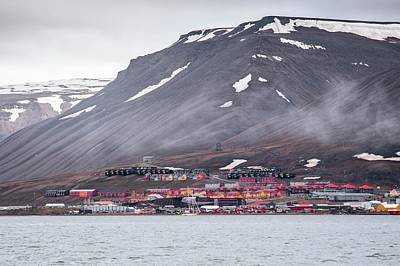 Longyearbyen Print by Paul Williams