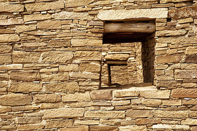 Chaco Canyon Photograph - Looking Back In Time by Melany Sarafis