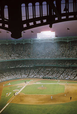 Old Yankee Photograph - Brillant Yankee Stadium by Retro Images Archive
