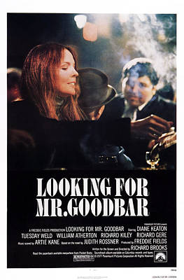 Diane Keaton Photograph - Looking For Mr. Goodbar, Us Poster Art by Everett