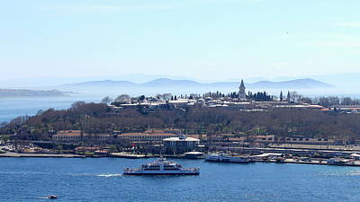Istanbul Photograph - Looking Out From The Golden Horn by Rebecca Davis