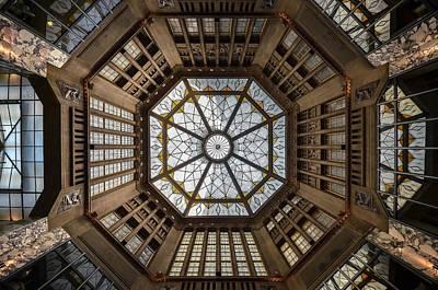 Praha Photograph - Looking Up by Renate Reichert