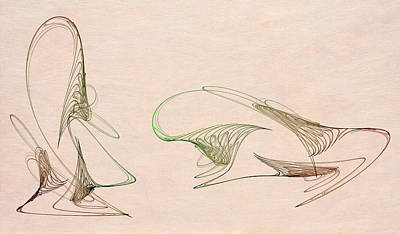 Loops Print by David Ridley
