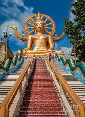 Lord Buddha Print by Adrian Evans